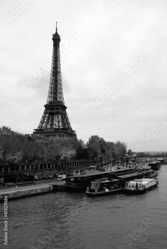 Fotografie, Obraz  Eiffel Tower Paris