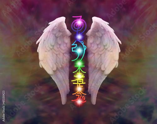 Photo  Reiki Symbols and Chakras