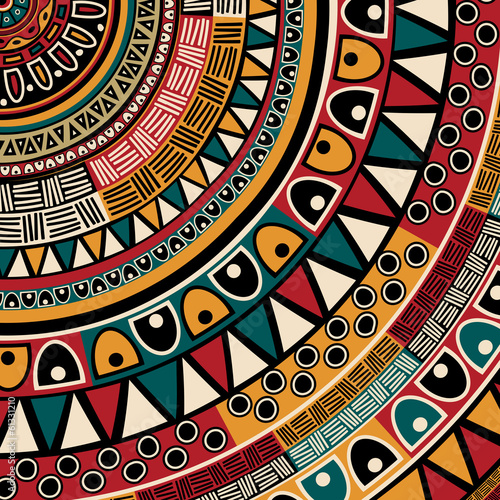 Tribal ethnic background Poster Mural XXL