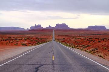 road in a desert