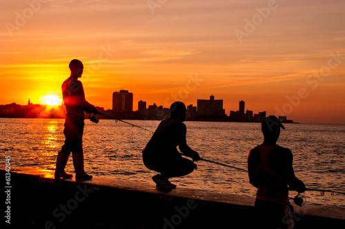 fototapeta na ścianę Cuban sunsets