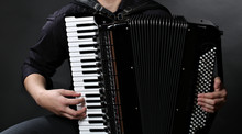 Frayed Buttons Of  Accordion
