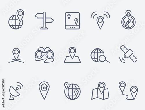 Fotografía  Location icons