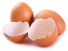 Eggs And Eggshell