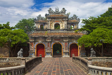Gate To A Citadel In Hue, Viet...
