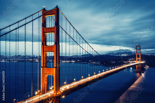 Cross processing Golden Gtae Bridge