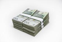 Stos Banknotów 60000zł