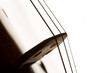 Silhouette of a violin