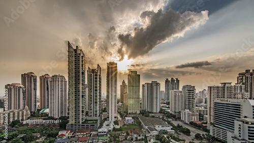 Photo Modern Commercial City (Bangkok)