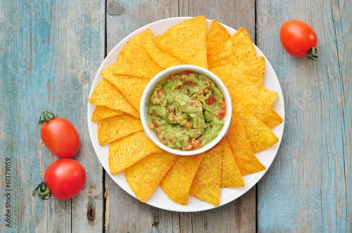 Fotografía  Mexican guacamole sauce