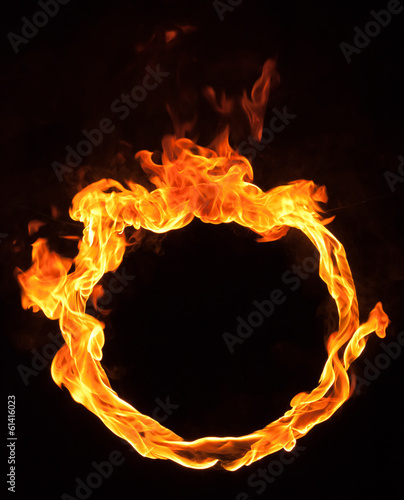 Photo Stands Fire / Flame fire flame circle
