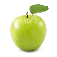 Green Apple Isolated On White ...