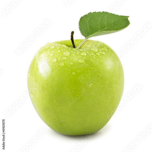 Fototapeta Jabłko  green-apple-isolated-on-white-background