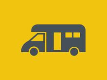 Transportation Flat Icon. Vect...