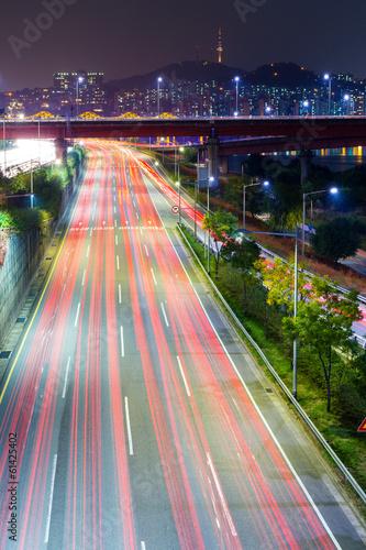 Traffic in Seoul Poster