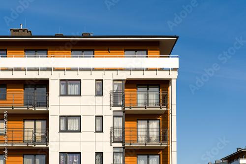Modern house - fototapety na wymiar