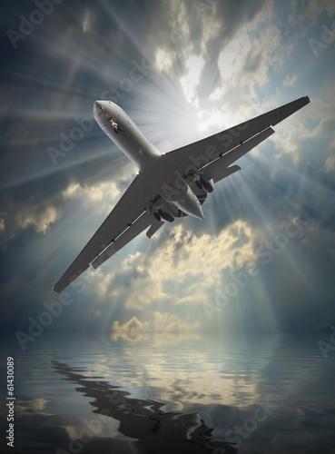 samolot-pasazerski-odrzutowy-w-niebezpiecznej-sytuacji-powyzej