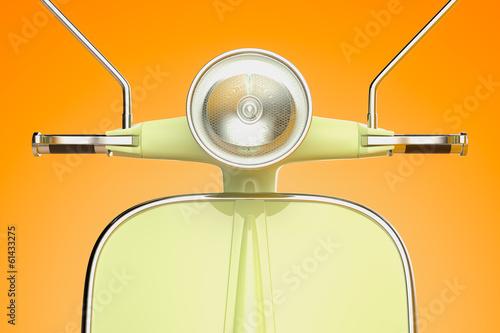 Photo  Retro scooter