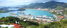 St Thomas Harbor Of US Virgin ...