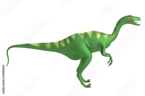 Photo  realistic 3d render of velociraptor