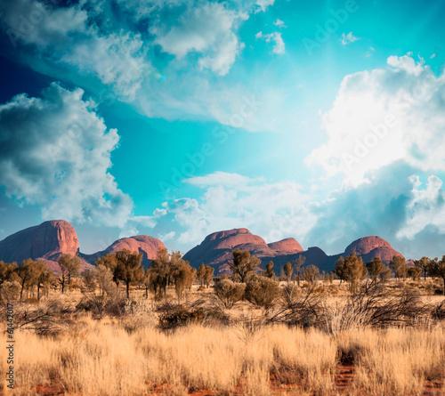 Landscape of Australian Countryside #61442017