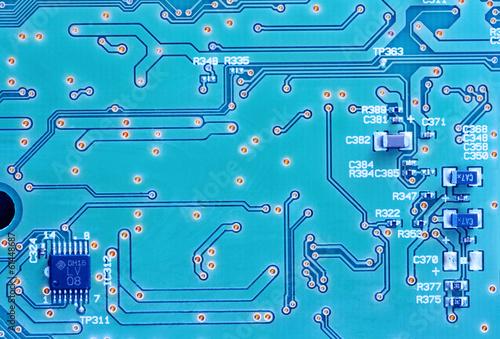 Fotografie, Obraz  computer electronics