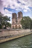 Fototapeta Fototapety Paryż - Paryż - katedra Notre Dame