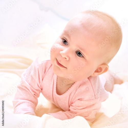Fototapety, obrazy: Cute newborn baby
