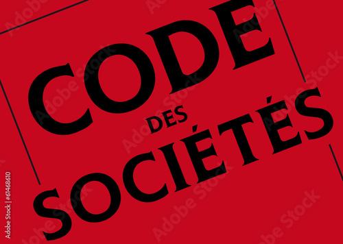 Photo  Code des Société
