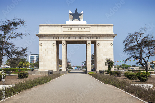 Independence Square, Accra, Ghana Canvas Print
