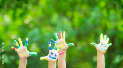 Valokuva  Happy hands