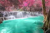 Deep forest Waterfall in Kanchanaburi