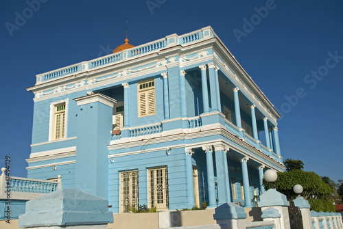 Azul Palace, Cienfuegos, Cuba Canvas Print
