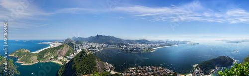 Deurstickers Rio de Janeiro Rio de Janeiro, Panorama, Ipanema, Copacabana
