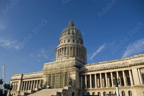Fotografie, Obraz  Parliament, Havana, Cuba