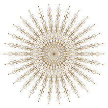 Decorative Gold And Frame With...