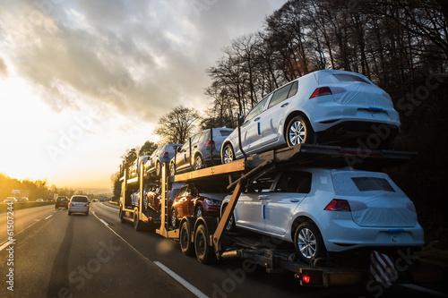 Fotografía  Neuwagentransport