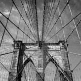 Fototapeta Most - Brooklyn bridge, New York City