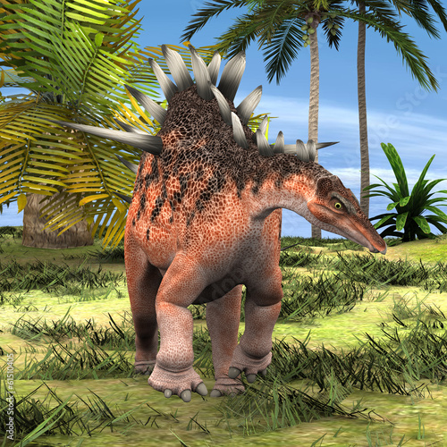 Fotografie, Obraz  Dinosaur Kentrosaurus