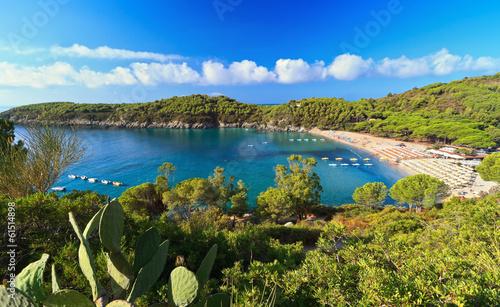 Cuadros en Lienzo Fetovaia bay - Elba island
