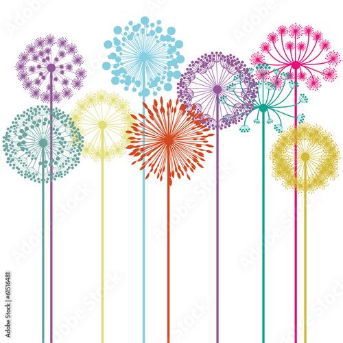 projekt kwiatów