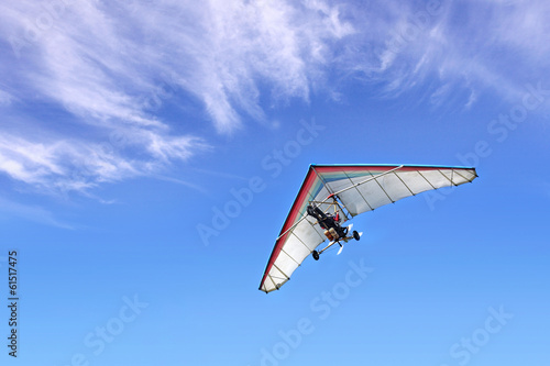 Fotografía  Motorized hang glider