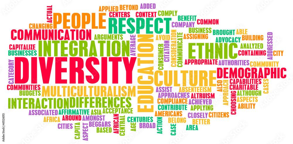 Fototapety, obrazy: Diversity