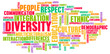 canvas print picture - Diversity