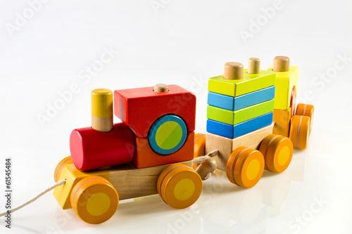 Fotografie, Obraz  giocattolo di legno
