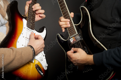 Fotografía blues vs. rock