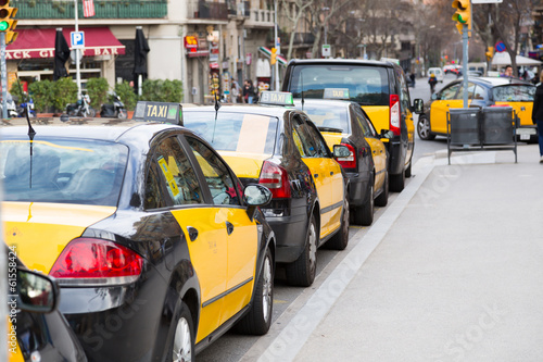 Poster New York TAXI Taxi Barcelona