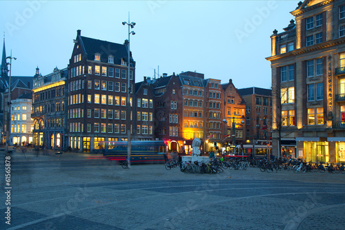 Photo  Evening Amsterdam.