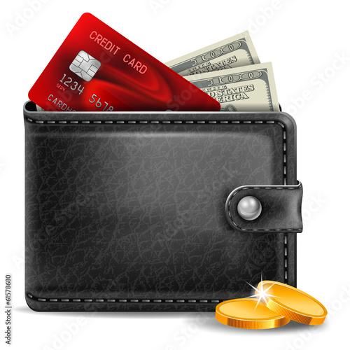 Fotografía  Leather wallet