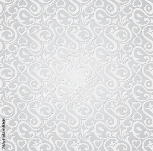 Tapeta Ecru  silver-seamless-wallpaper